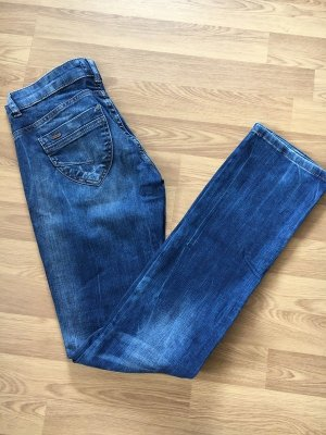 Fuga Denim Jeans Waschung Used Look w26 L34