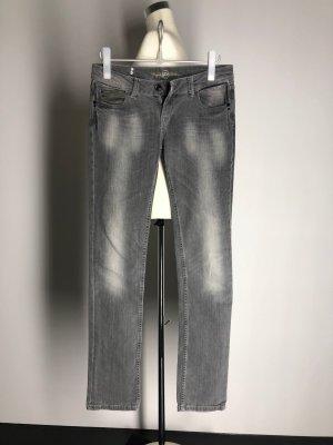 Fuga Boot Cut Jeans grey cotton