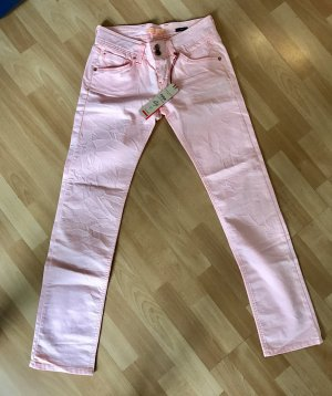 Fuga Jeans slim rosa