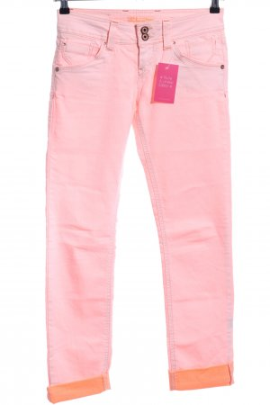 Fuga Slim jeans roze casual uitstraling