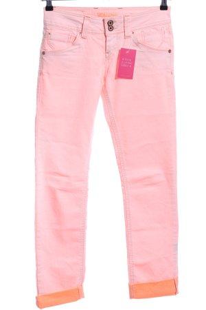 Fuga Slim Jeans pink casual look