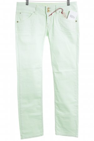 Fuga Slim Jeans mint Street-Fashion-Look