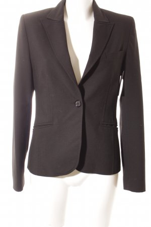 FundamentalS Kurz-Blazer schwarz Business-Look