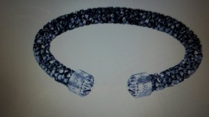 Swarovski Armlet black-silver-colored