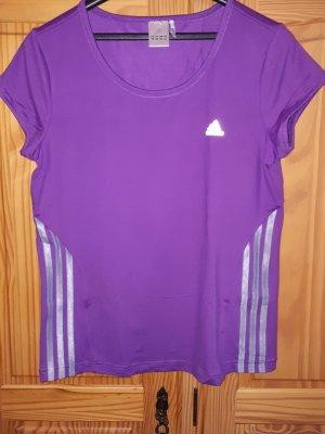 Adidas Sportshirt zilver-lila