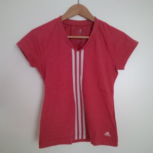 Funktionshirt Sportshirt Adidas in rot