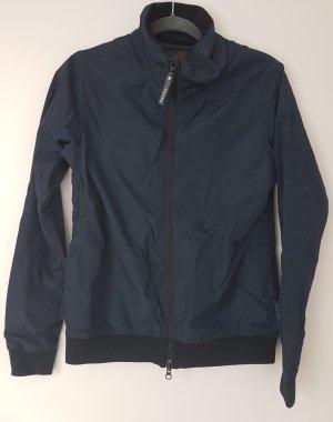Outdoor Jacket dark blue polyester