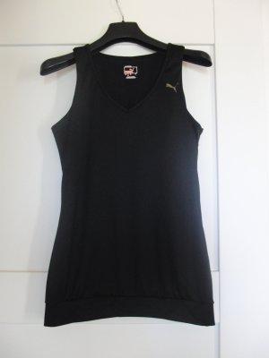 Puma Sporttop zwart Polyester