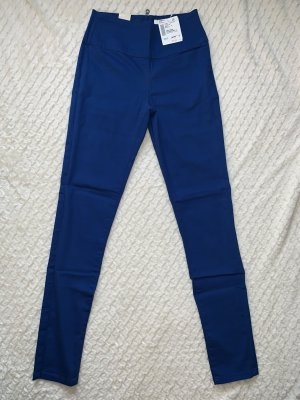 Pieces High Waist Trousers blue