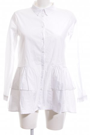Funky Staff Long Blouse white casual look