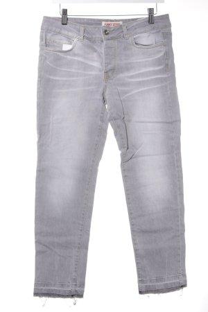 Funky Staff Jeans met rechte pijpen kleurverloop casual uitstraling