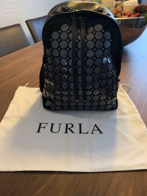 Furla Rugzak zwart-zilver