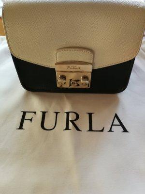 Furla Mini Bag white-black