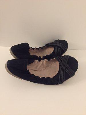 Furla Ballerinas with Toecap black