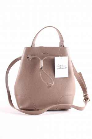 "Furla Pouch Bag ""Stacy S Drawstring Daino"" beige"