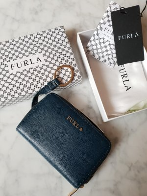 Furla Key Case petrol