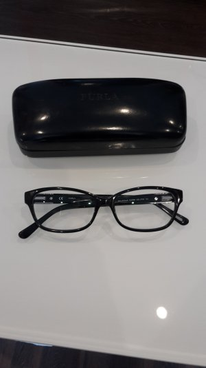 Furla Glasses black-silver-colored acetate