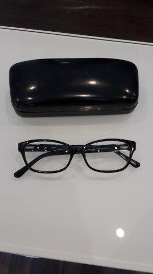 Furla Brille Brillengestell mit Gläsern ohne Sehstärke Belleville VU4790 schwarz