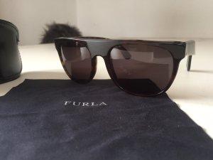 Furla Glasses dark brown-gold-colored