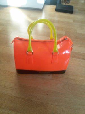 Furla Candy Bag (groß), Neon orange