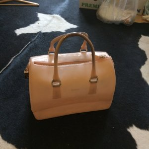 FURLA Candy Bowling bag rosa sehr guter Zustand