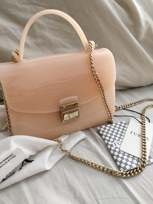 Furla candy sugar mini crossbody magnolia peach beige
