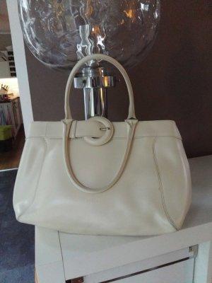 Furla Echtleder Handtasche im Stil der 50er
