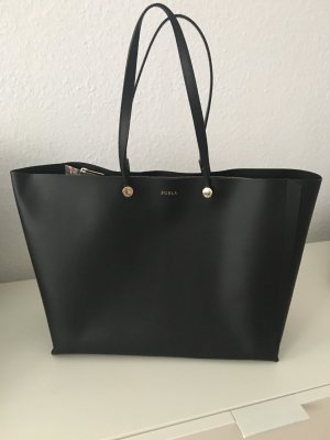 Furla Eden Shopper schwarz Leder