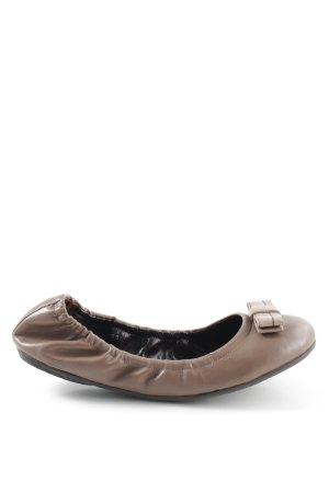 Furla Foldable Ballet Flats brown casual look
