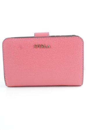 "Furla Wallet ""Babylon M Zip Around Wallet Rosa Coral"" bright red"