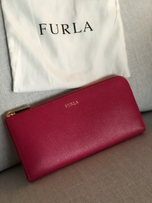Furla Geldbörse Babylon XL Zip Around L Pink Fuchsia