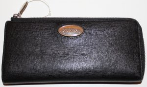 Furla Wallet black leather