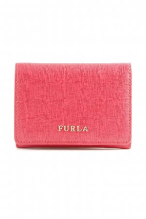 Furla Geldbörse ziegelrot Business-Look