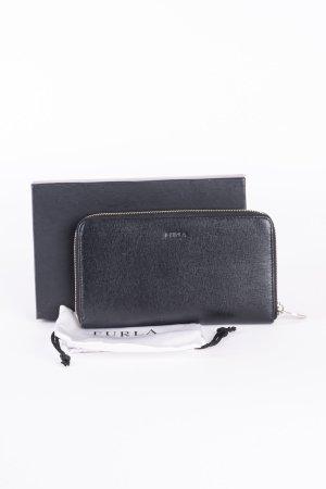 FURLA - Geldtasche mit Rundum-Reißverschluss Onyx (Schwarz)