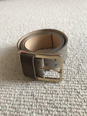 Furla Leather Belt grey-grey brown