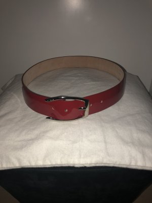 Furla Leather Belt red-beige