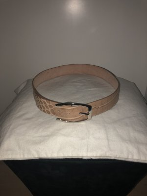 Furla Leather Belt beige