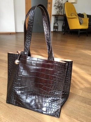 Furla Carry Bag brown leather