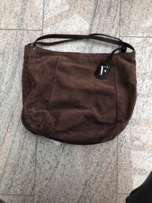 Furla Pouch Bag brown leather