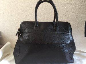 Furla Handtasche aus Leder in Dunkelbraun, Business, Schopper, großes Modell, neuwertig und tiptop!