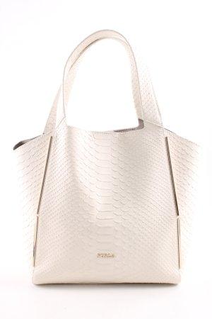 Furla Handtasche wollweiß Business-Look