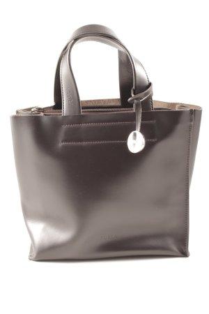 Furla Borsetta marrone scuro-argento elegante