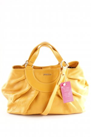 Furla Handtasche dunkelgelb-goldfarben Elegant