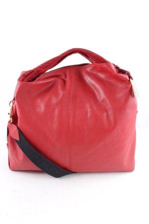 Furla Handtasche dunkelrot schlichter Stil