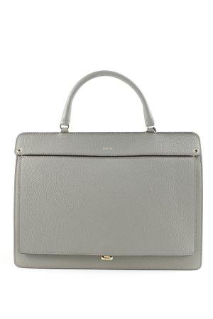 Furla Handtasche grau schlichter Stil