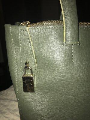 Furla Handtasche Henkeltasche Schultertasche grün