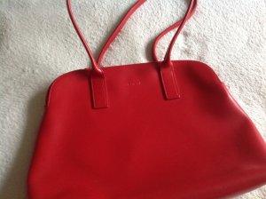 Furla Handtasche in rot, wie neu