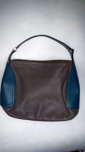 Furla Handtasche in taupe-petrol