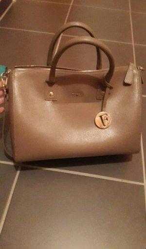 Furla Handtasche Linda in taupe