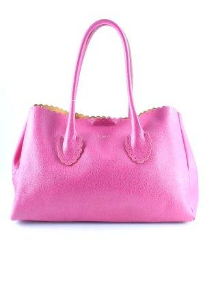 Furla Handtasche magenta-dunkelgelb Elegant